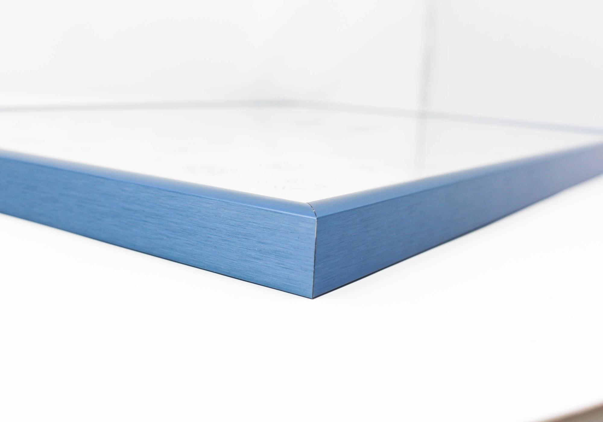 cadre photo a5 bleu