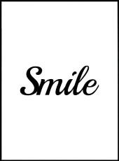 affiche citation smile