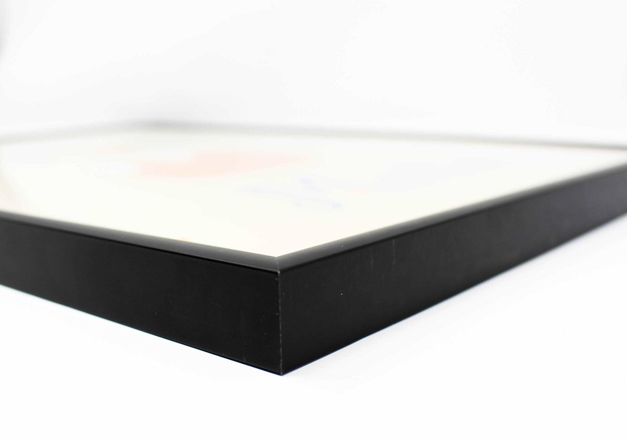 tranche cadre noir mat A5