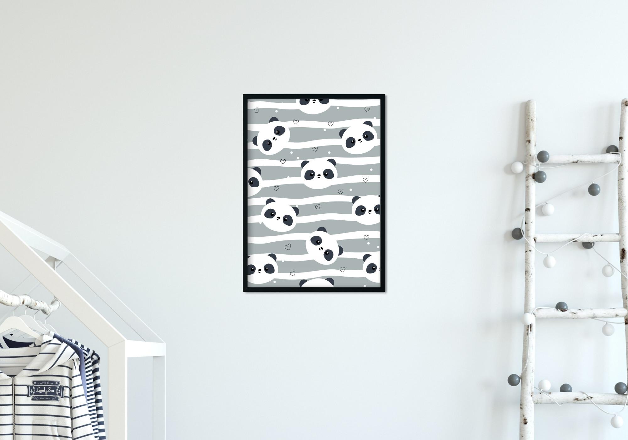 Poster enfant panda